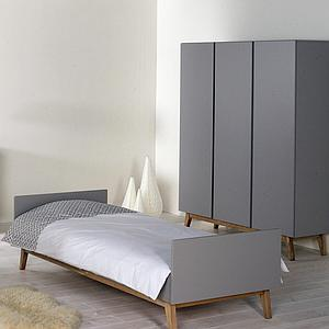 Lit 90x200cm TRENDY Quax Griffin grey
