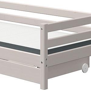 Lit banquette 90x190cm 2 tiroirs CLASSIC Flexa grey washed