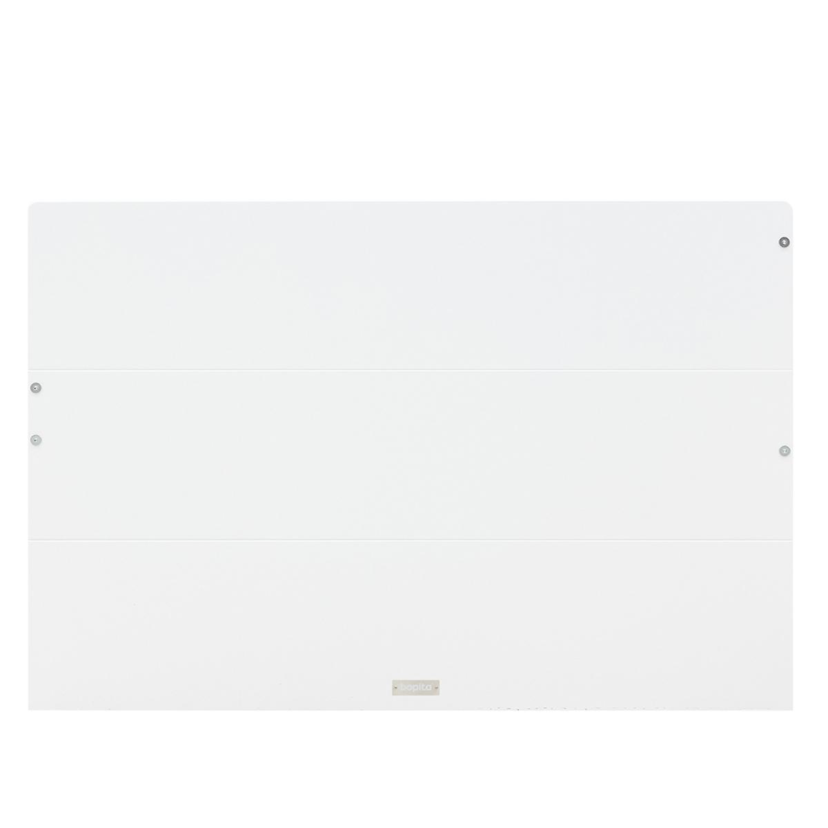 Lit banquette 90x200cm 3 tiroirs LOCKER Bopita blanc