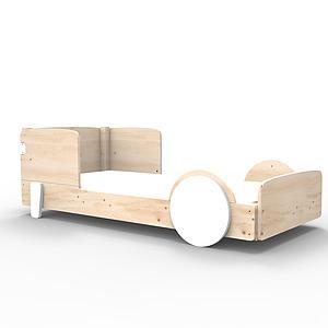 Lit bas 90x190cm DISCOVERY Mathy by Bols blanc