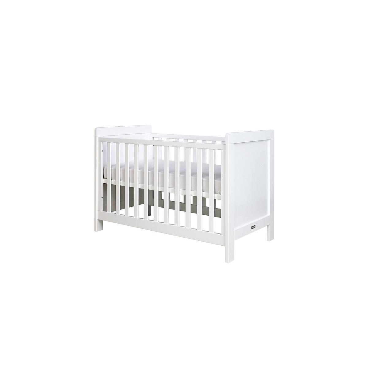Lit bébé 60x120 cm SVEN Bopita blanc