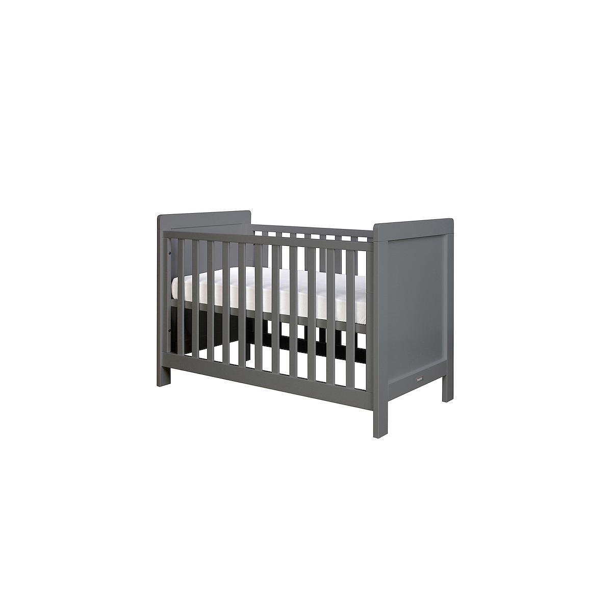 Lit bébé 60x120 cm SVEN Bopita deep grey