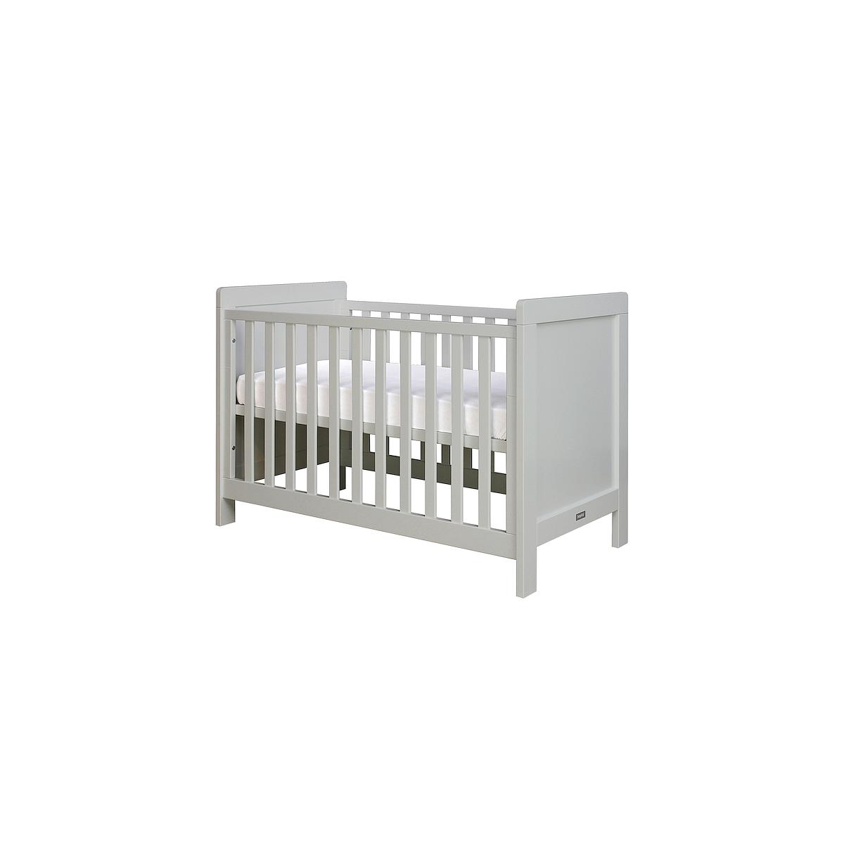 Lit bébé 60x120 cm SVEN Bopita pure grey