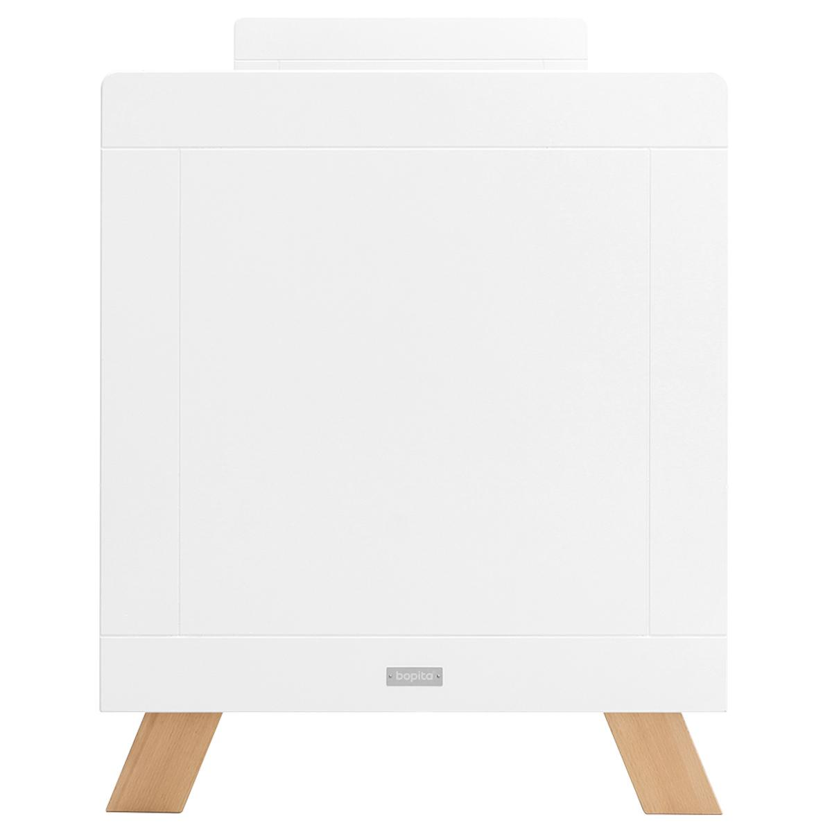Lit bébé 60x120cm LISA Bopita blanc-naturel