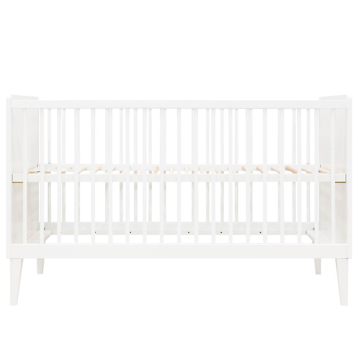 Lit bébé évolutif 70x140cm LOCKER Bopita blanc
