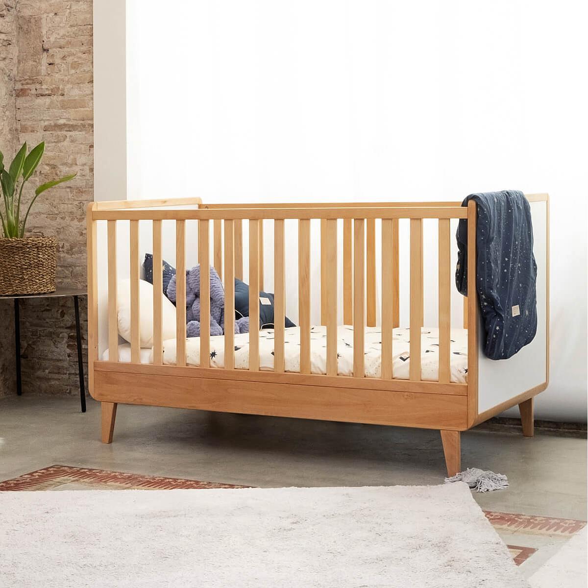Lit bébé évolutif 70x140cm NADO By A.K.