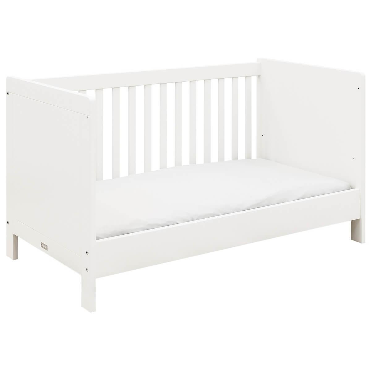 Lit bébé évolutif 70x140cm THIJN Bopita blanc