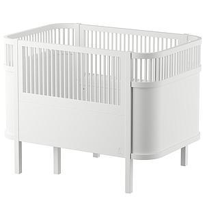 Lit bébé évolutif Sebra blanc