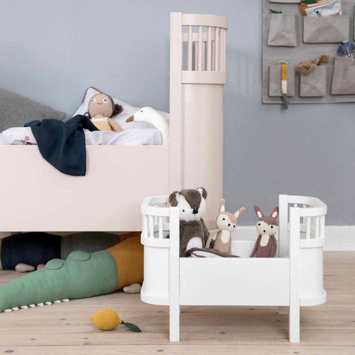 Lit bébé évolutif Sebra Écorce de bouleau beige