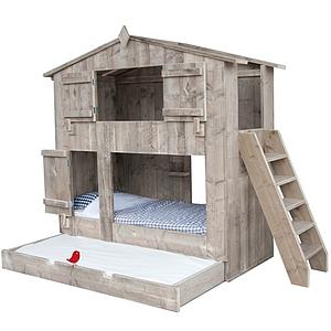 Lit cabane superposés BOOMHUT Dutchwood