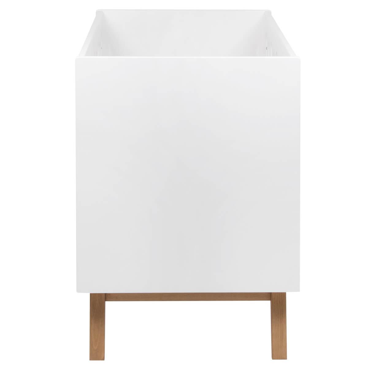 Lit évolutif 60x120cm TRENDY Quax blanc
