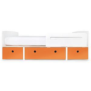 Lit évolutif 90x200cm COLORFLEX Abitare Kids pure orange