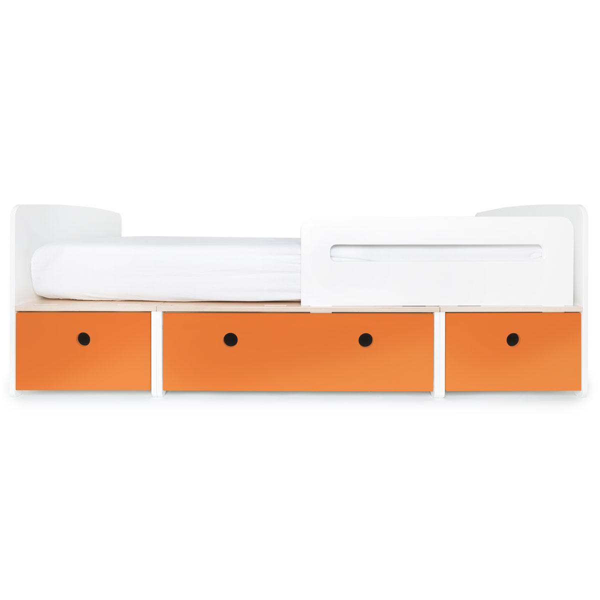 Lit évolutif 90x200cm COLORFLEX pure orange