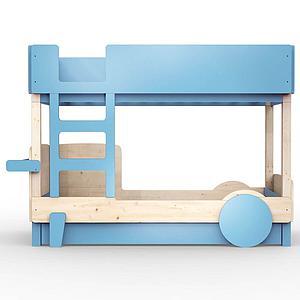 Lit gigogne DISCOVERY Mathy by Bols bleu azur