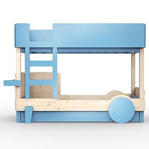 Lit superposé 90x190cm DISCOVERY Mathy by Bols bleu azur