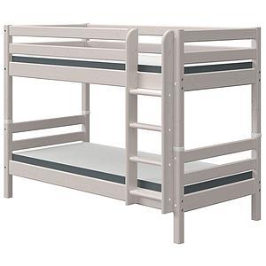 Lit superposé 90x200cm échelle droite CLASSIC grey washed