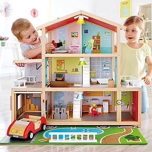 Maison de poupées MANSION Hape