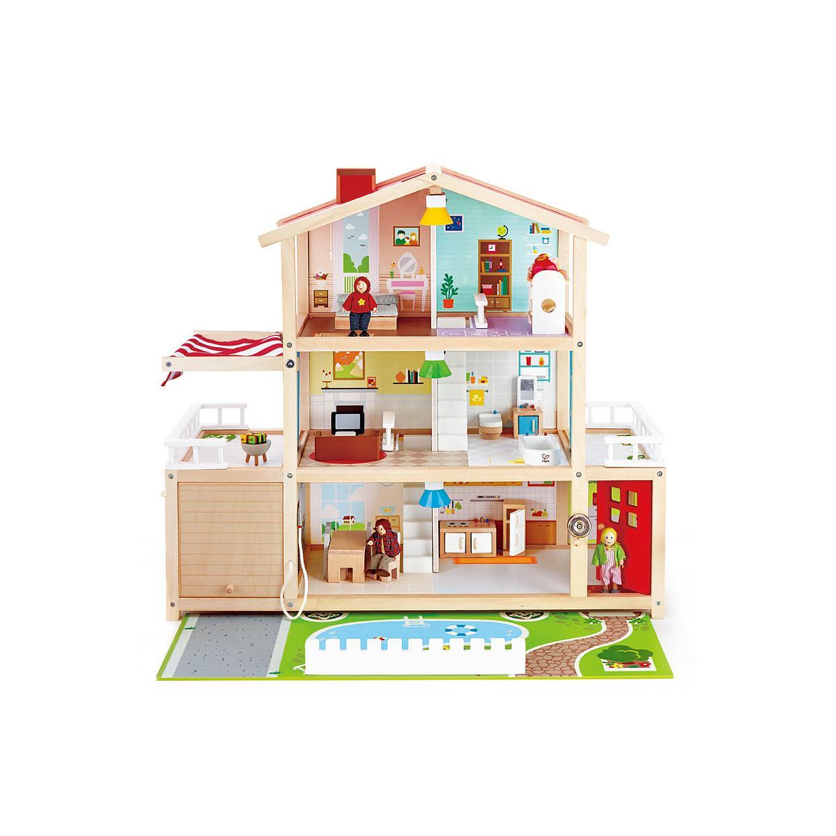 Maison poupée enfant villa FAMILY Hape