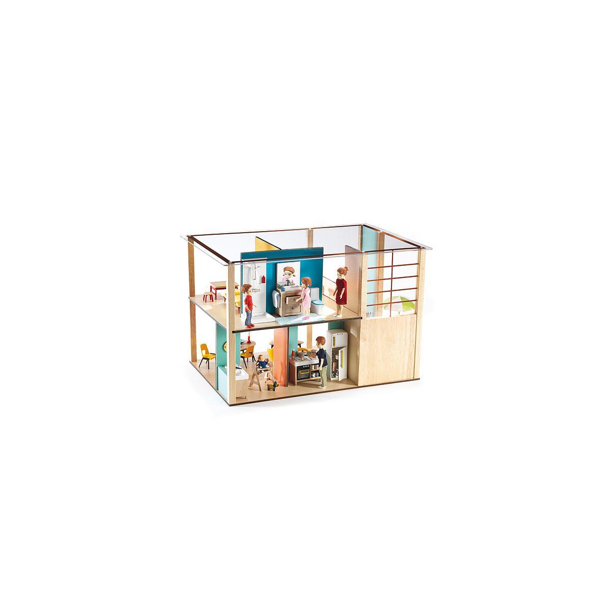 Maison poupées CUBIC HOUSE Djeco