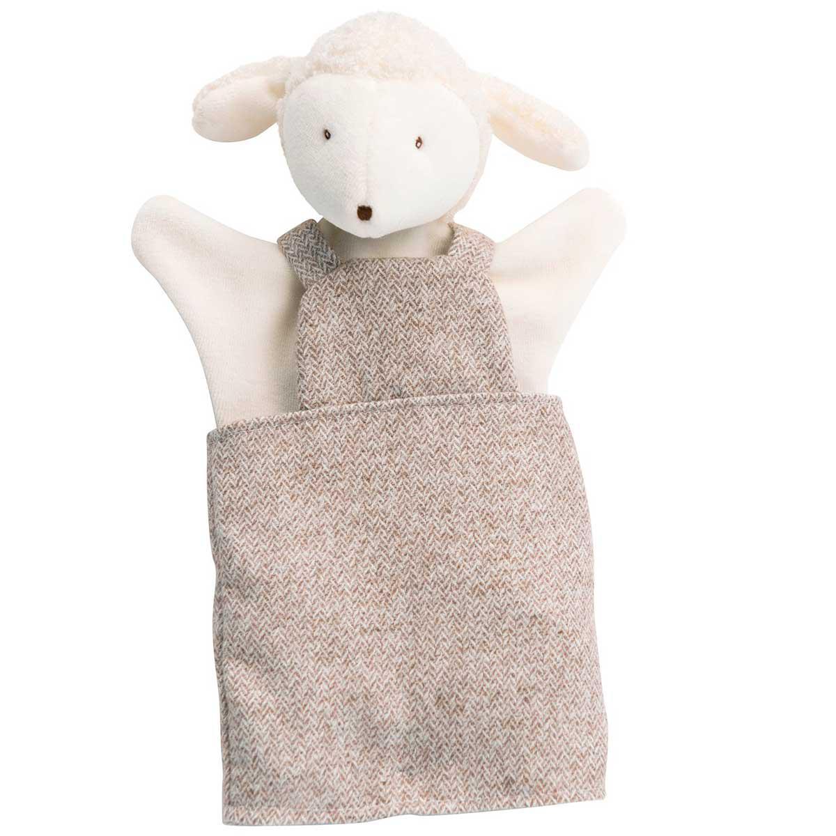 Marionnette enfant Albert le mouton MOULIN ROTY