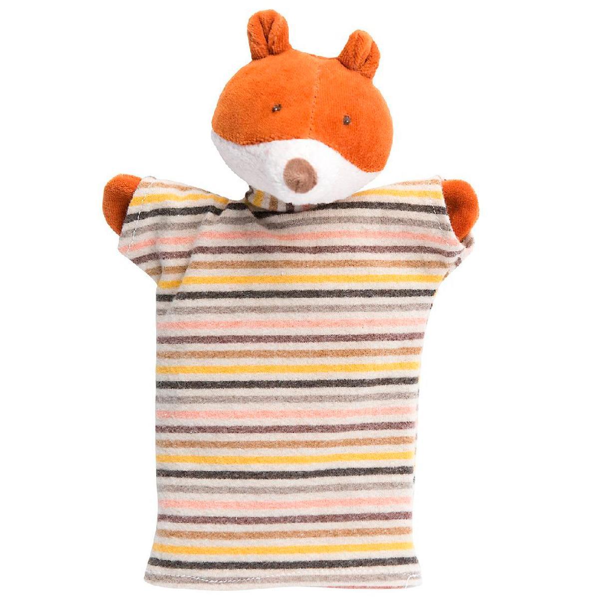 Marionnette enfant Gaspard le renard MOULIN ROTY