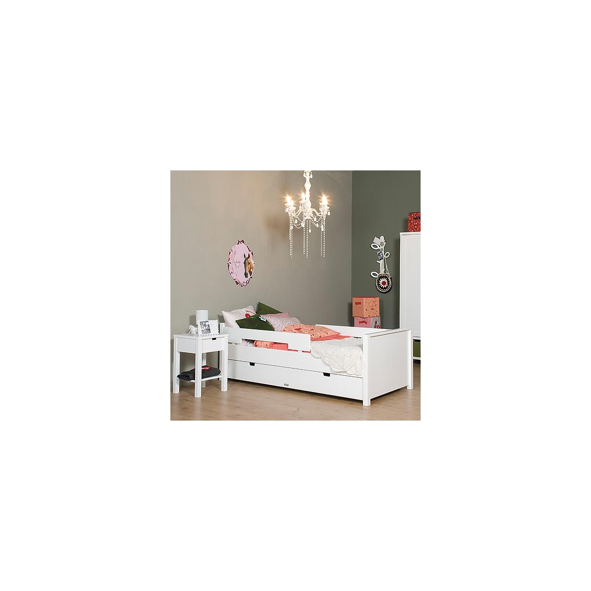 MIX & MATCH by Bopita JONNE Lit enfant junior 70x150 cm blanc