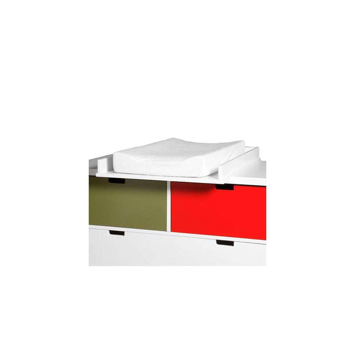 MIX & MATCH by Bopita Table à langer Luxe blanc