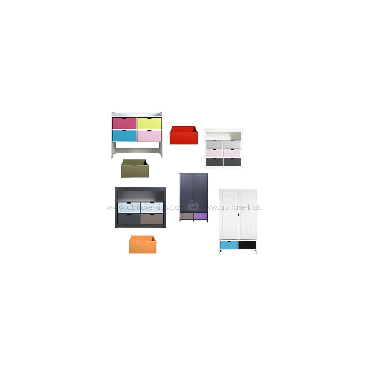 MIX & MATCH by Bopita Tiroir pour commode, armoire et parc Orange