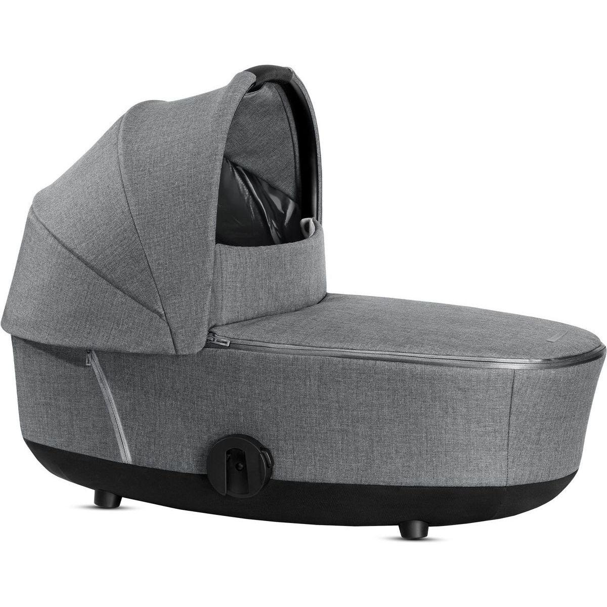 Nacelle de luxe MIOS Cybex Plus Manhattan Grey Plus-mid grey