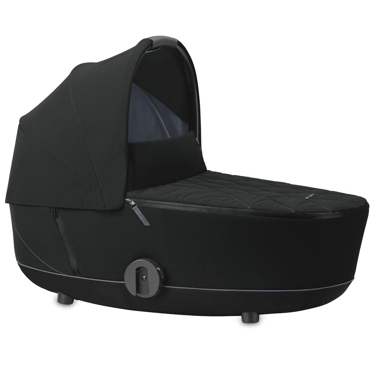 Nacelle luxe MIOS Cybex deep black-black