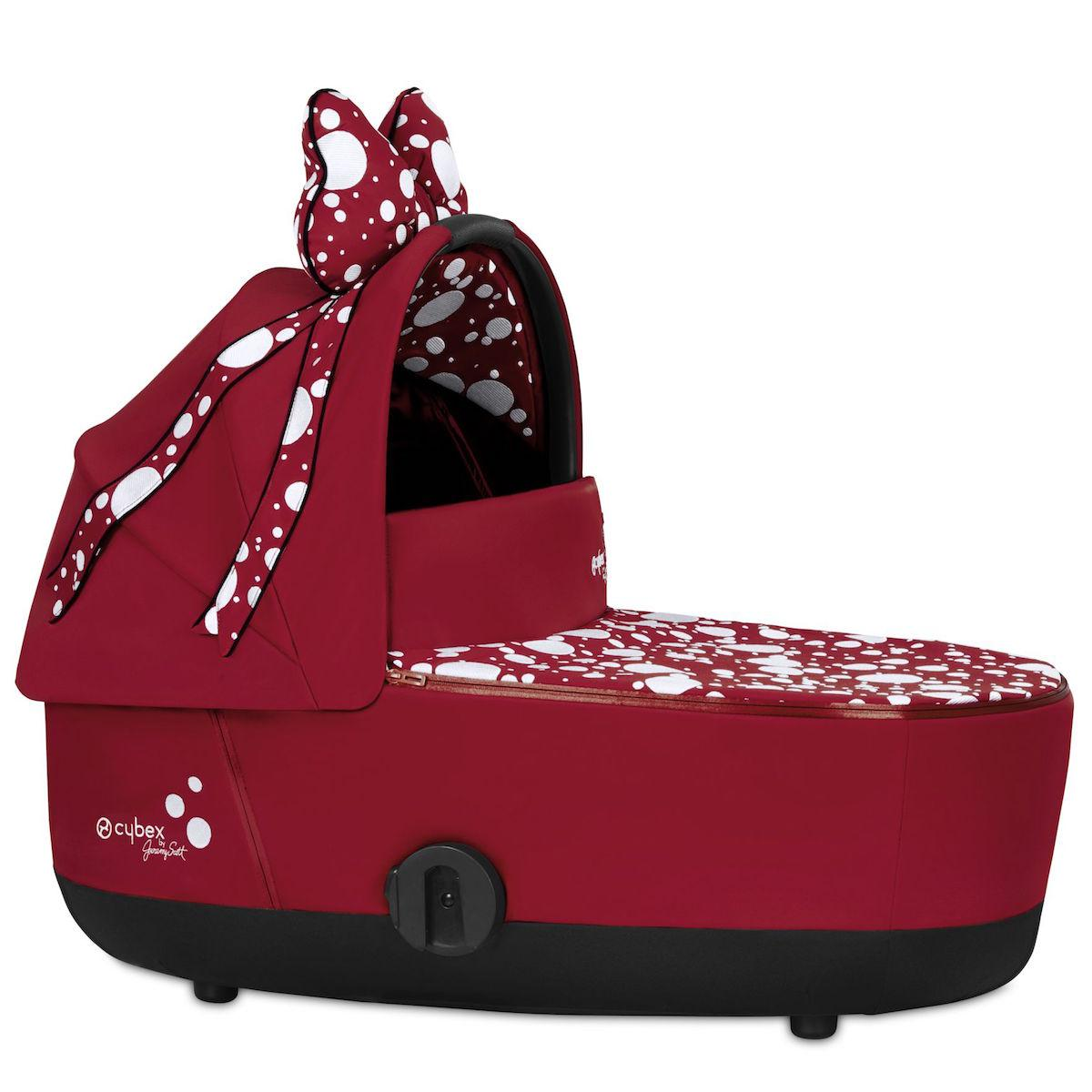 Nacelle luxe MIOS Cybex Petticoat Red dark red