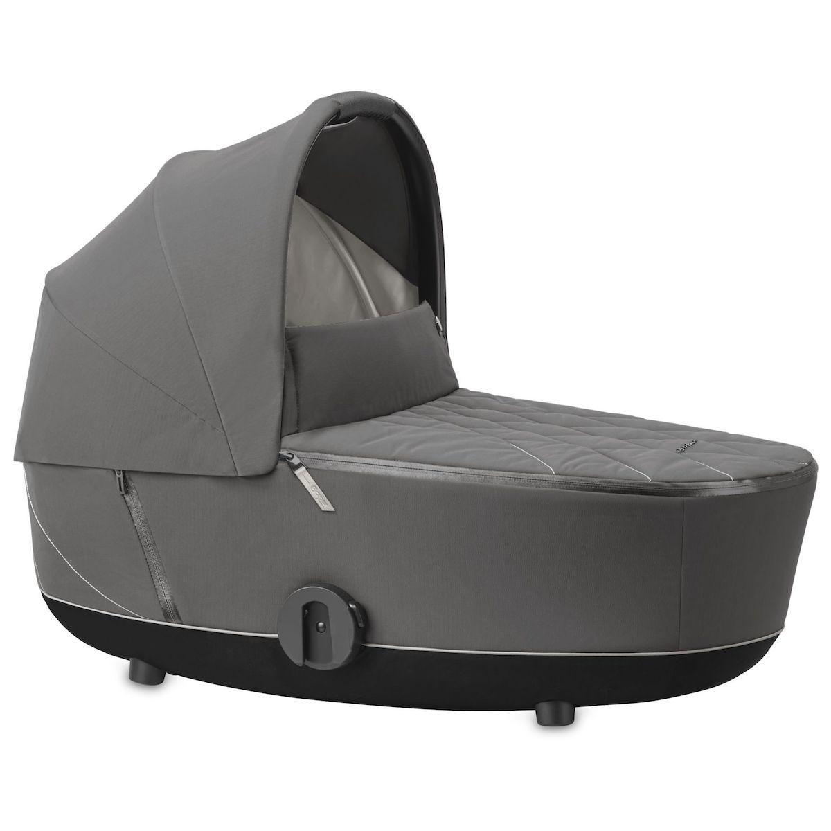 Nacelle luxe MIOS Cybex Soho grey-mid grey