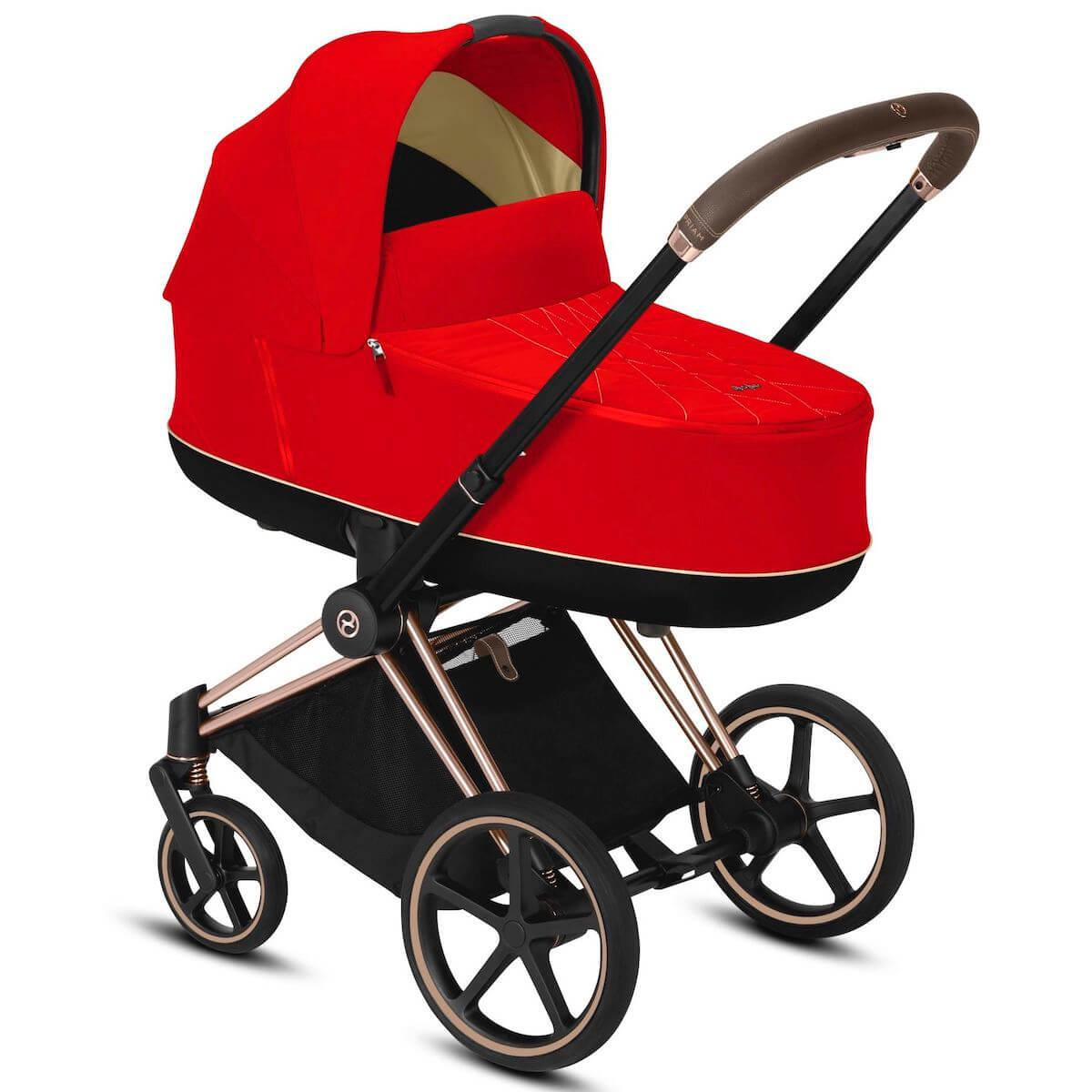 Nacelle luxe PRIAM Cybex Autumn Gold-burnt red