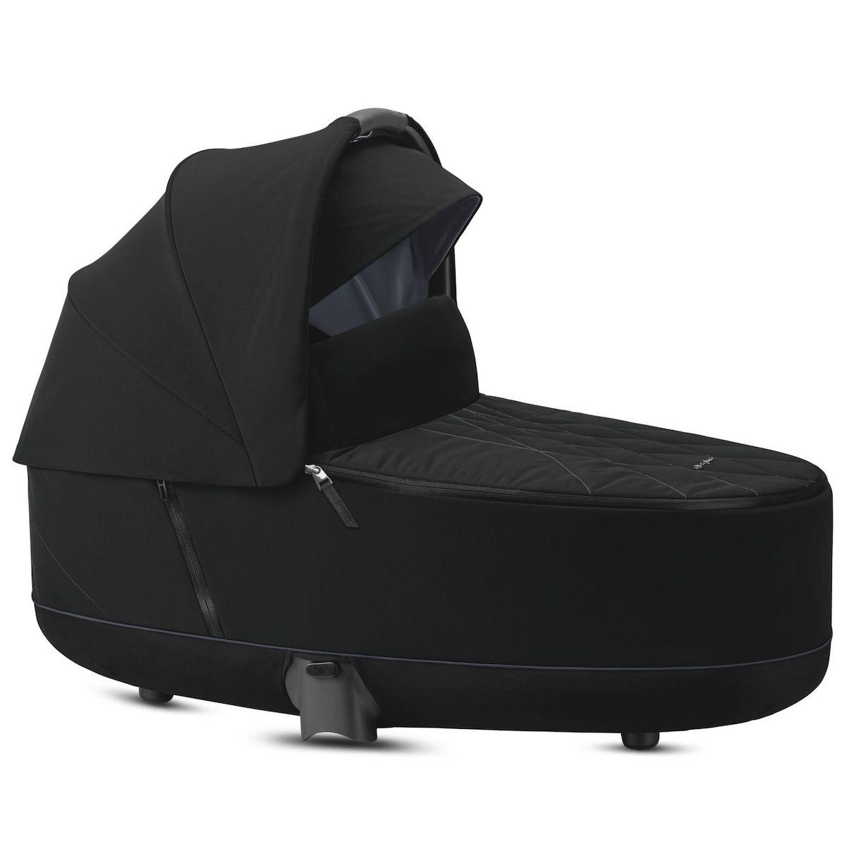 Nacelle luxe PRIAM Cybex deep black-black