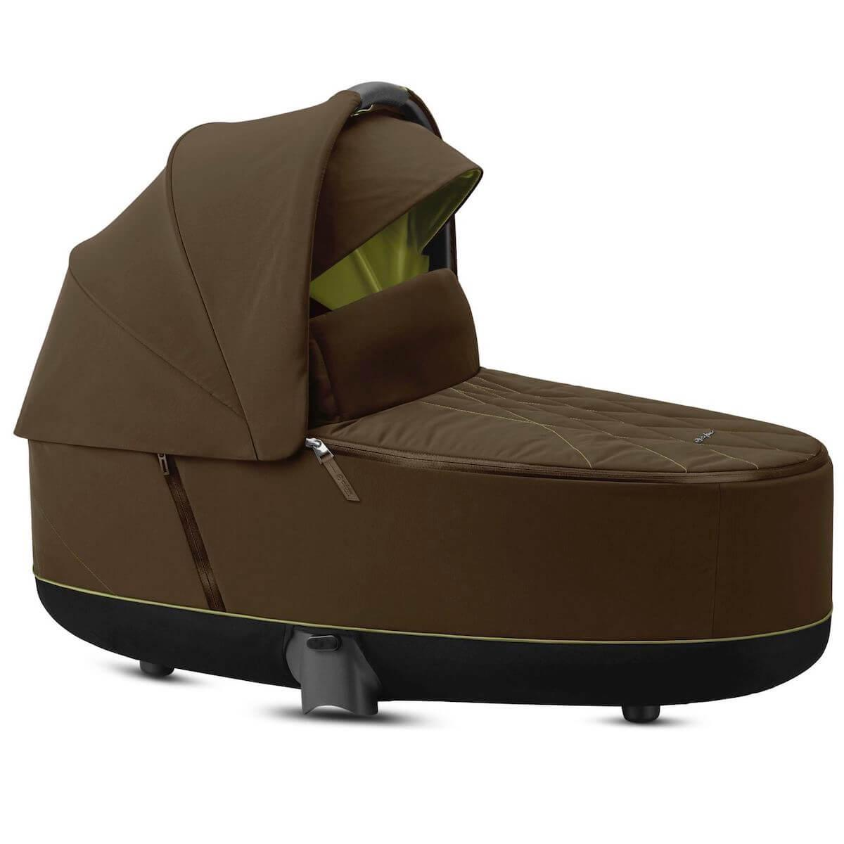 Nacelle luxe PRIAM Cybex Khaki green-khaki brown