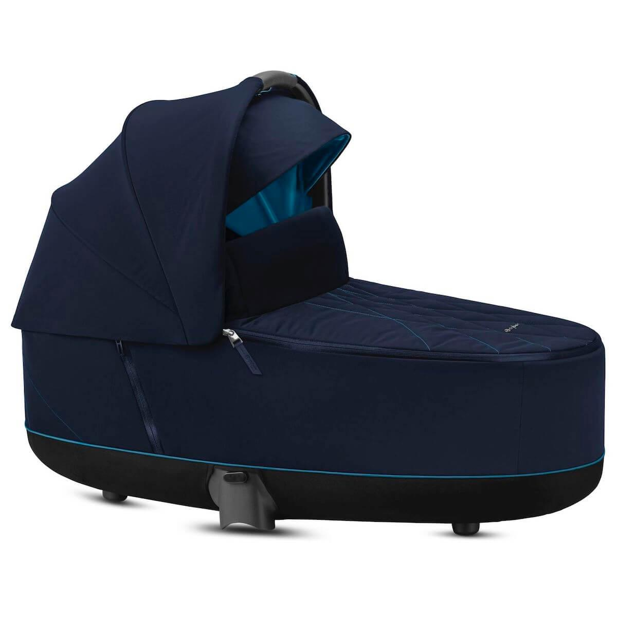 Nacelle luxe PRIAM Cybex Nautical blue-navy blue