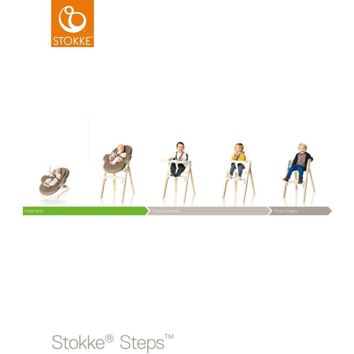 abitare pieds chaise haute h tre steps stokke. Black Bedroom Furniture Sets. Home Design Ideas