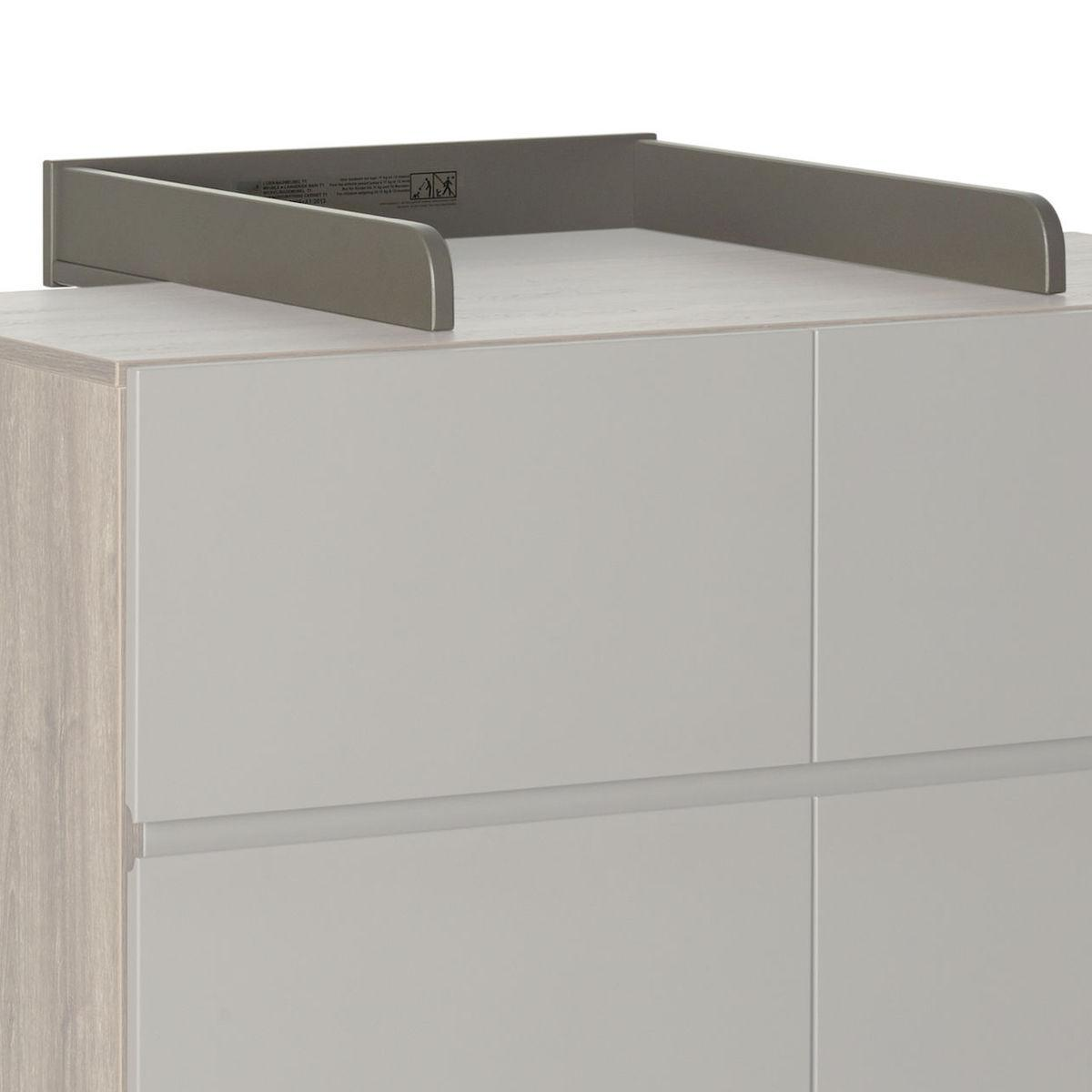 Plan à langer commode TRENDY Quax royal Oak