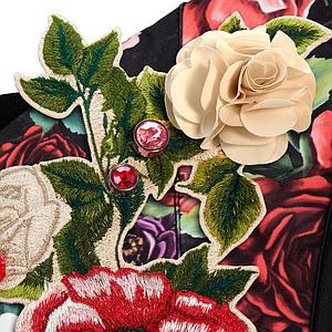 Porte-bébé YEMA TIE Cybex Spring Blossom Dark-black