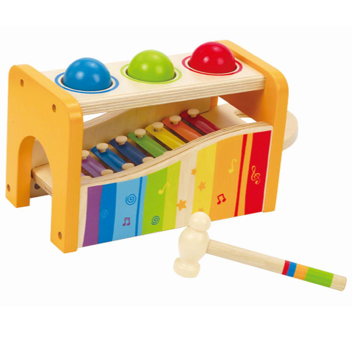 POUND AND TAP BENCH  by Hape Xylophone