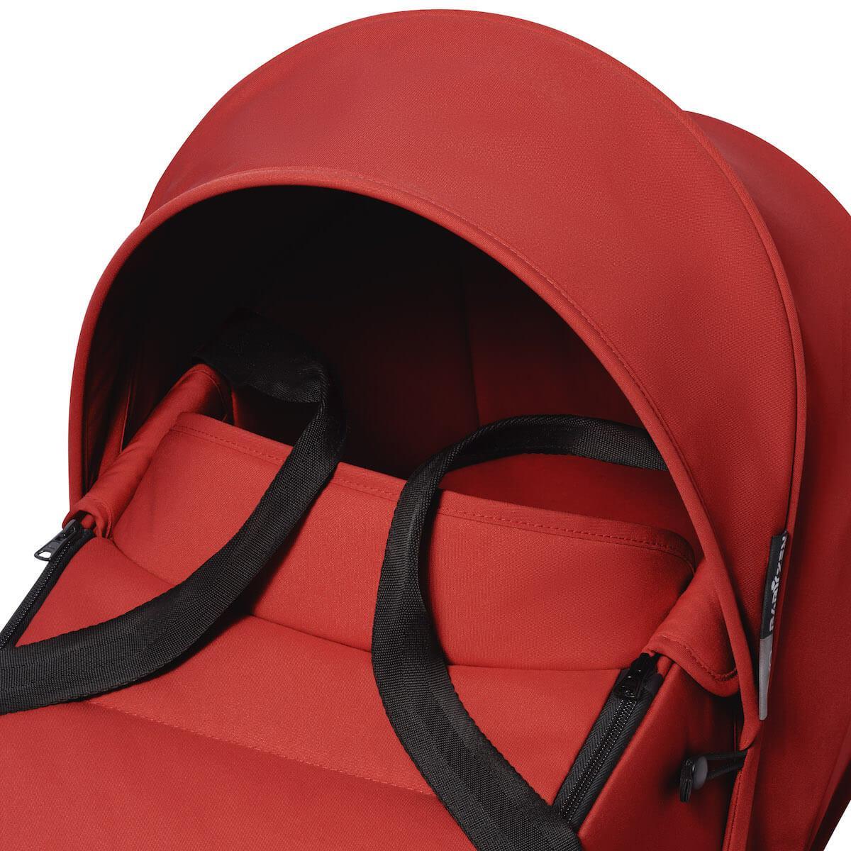 Poussette BABYZEN YOYO² tout en un nacelle/siège auto/6+ noir-rouge