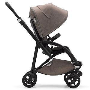 Poussette complète bugaboo BEE6 MINERAL noir-taupe-taupe