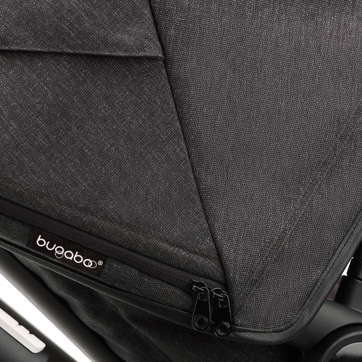 Poussette complète Bugaboo Fox3 Mineral noir-noir lavado