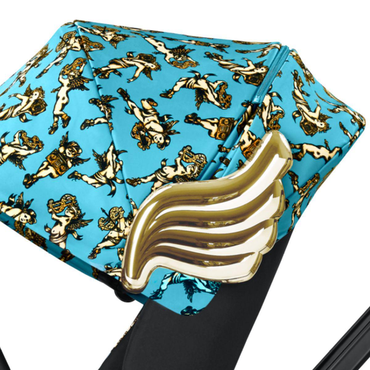 Poussette MIOS Cybex cherub blue-blue