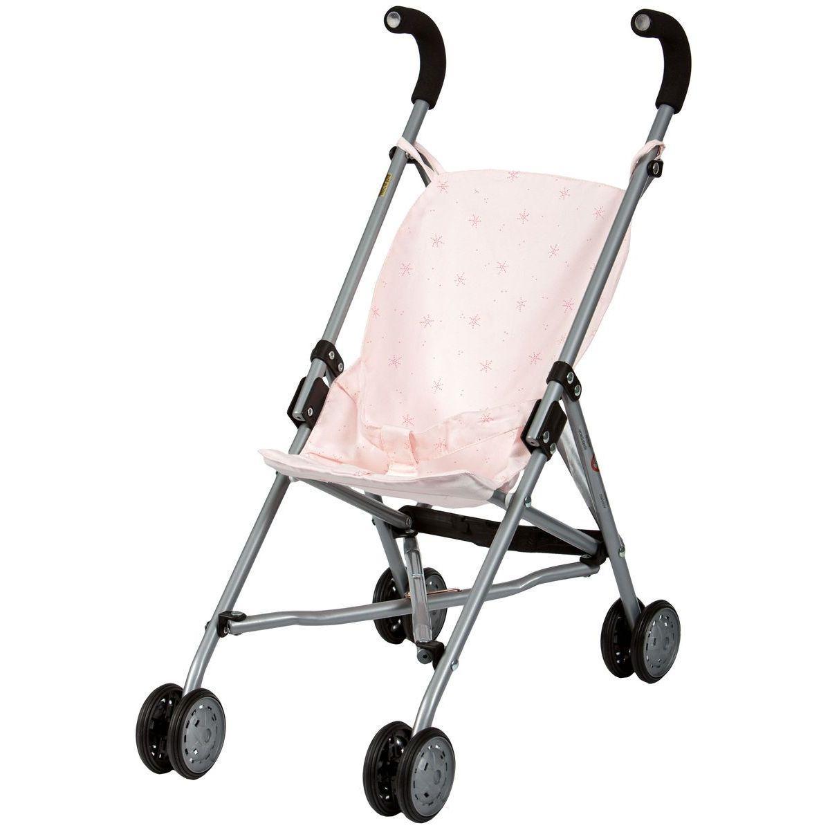 Poussette poupée STAR Barrutoys rose