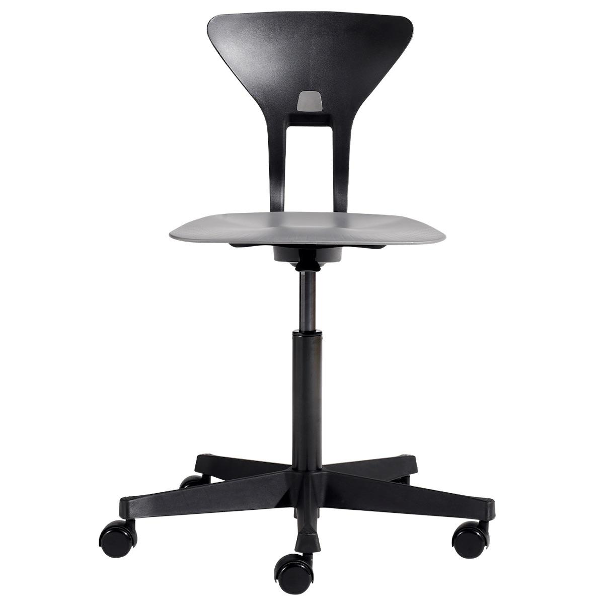 RAY by Flexa Chaise de bureau ergonomique noir