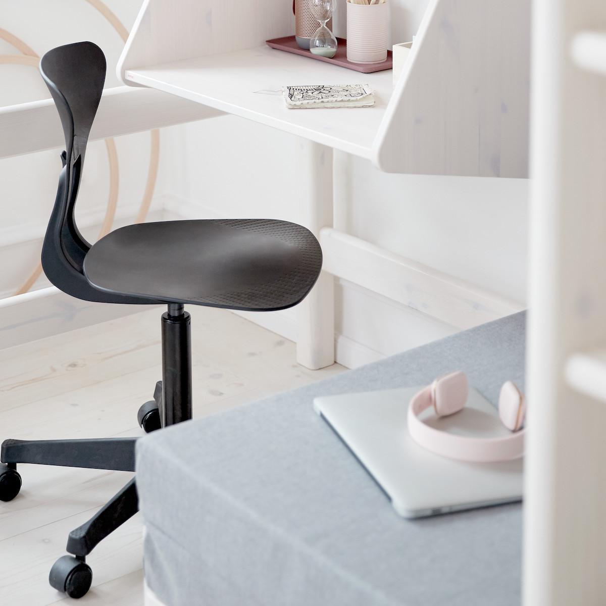 RAY by Flexa Chaise de bureau ergonomique noir