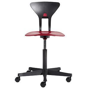 RAY by Flexa Chaise de bureau ergonomique Rouge
