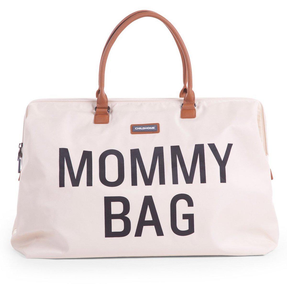 Sac à langer MOMMY BAG Childhome blanc cassé