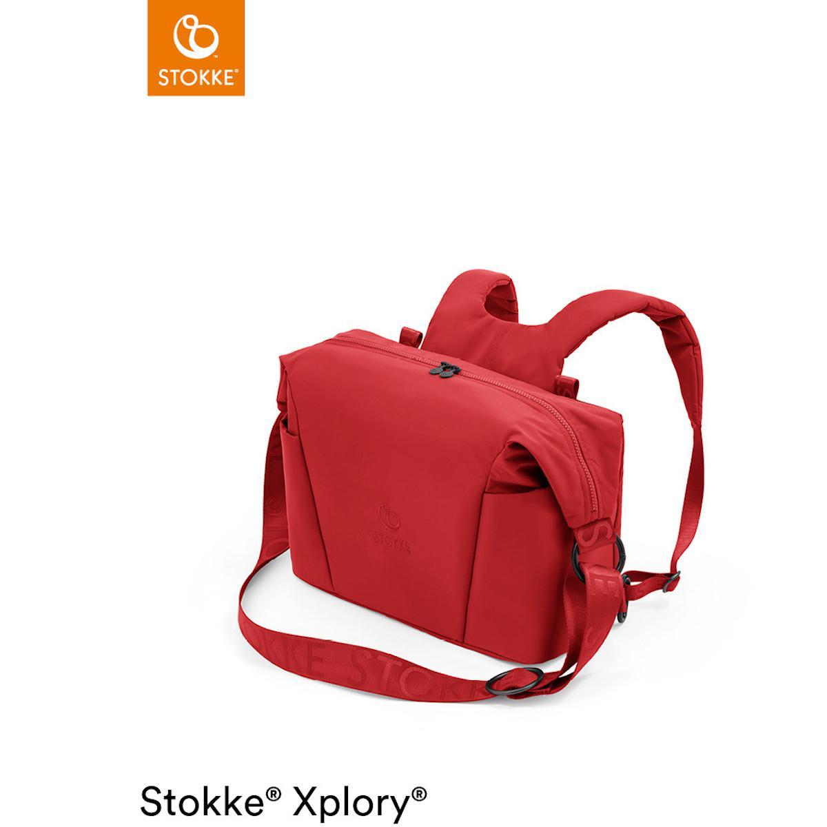 Sac à langer XPLORY X Stokke Ruby Red